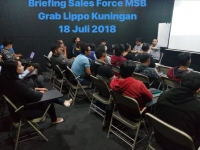 Breifing sales Force MSB Grab Lippo Kuningan 2018